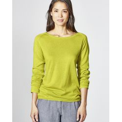 Organic cotton lightweight sweater / hemp