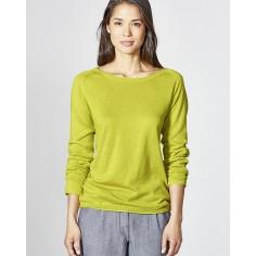 Organic cotton lightweight sweater / hemp