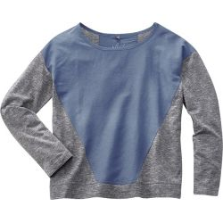 Organic cotton hemp sweater and silk