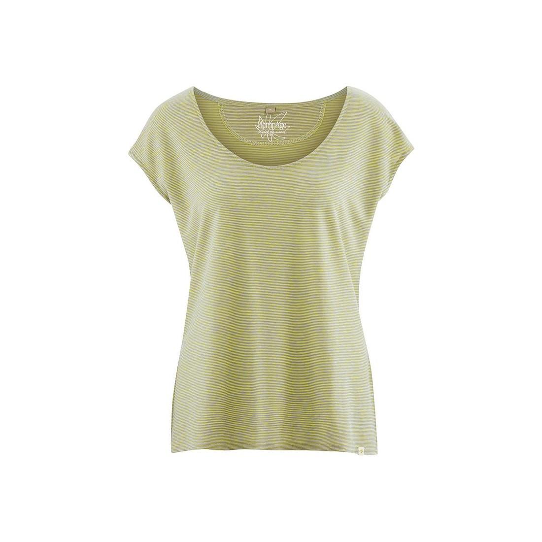 4cb84c0483 Camiseta mujer - cáñamo orgánico de algodón vegano