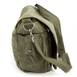 Large bag besace canvas ecological man/woman