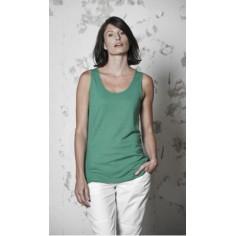 Damen Top Hanf und Bio-Baumwolle