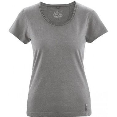 T-shirt di cotone canapa organica