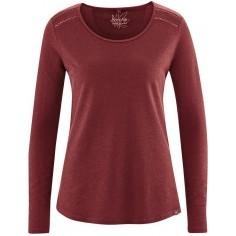 dh876 camiseta de algodón orgánico color marrón