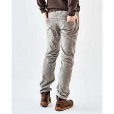 Pantaloni velluto di canapa e cotone biologico