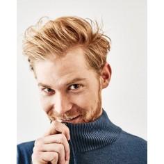 hombre de suéter de lana