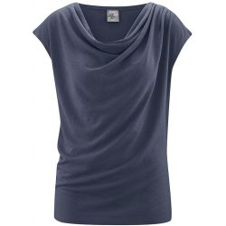 Top draped hemp and organic cotton