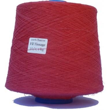 Alambre que teje de lino