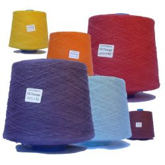 Alambre tejido 100% cáñamo Nm10/1 color/kg