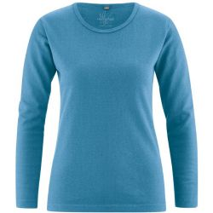 Cuello de la camiseta redonda cáñamo de algodón orgánico