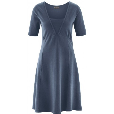 cotton trapeze dress