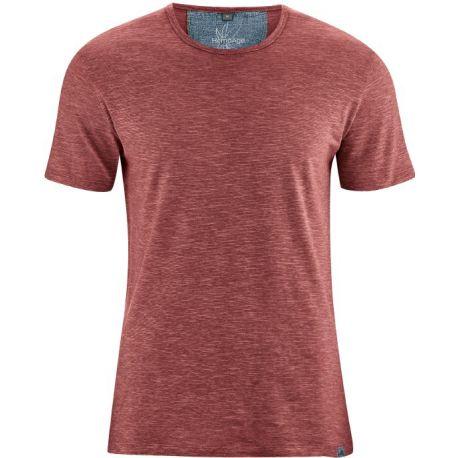 Tee shirt chiné léger - 55% chanvre