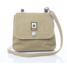 Mujer o niño mini bolso de cáñamo y algodón orgánico