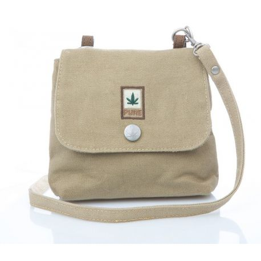 Woman or child mini bag hemp and organic cotton
