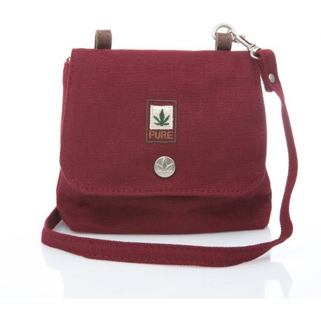 Woman or child mini bag hemp and organic cotton