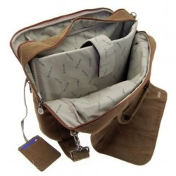 Computer bag portable canvas - PC 15.6 ""