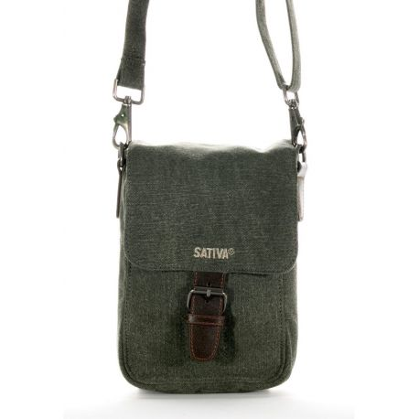 pre order classic fit big discount Sacoche homme toile bio et cuir - bagagerie ecologique