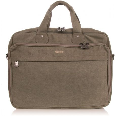 Bag briefcase computer laptop - PC bag canvas