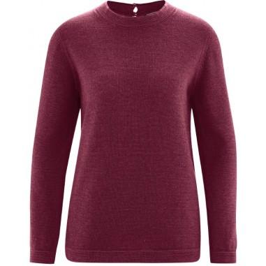 Suéter mujer lana y fibras orgánicas b7de13626880