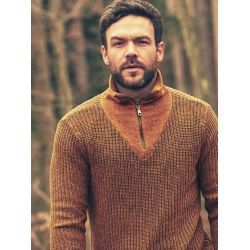 Man bio recycled sweater