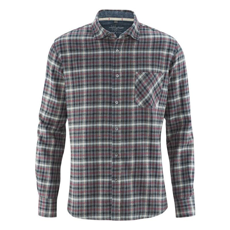 d2ac4bc63f Plaid shirt after a fair trade HempAge