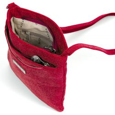 Mujer de badouliere de bolsa