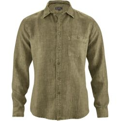 Pure slim hemp shirt - chest pocket