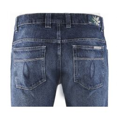 Hanf und Bio-Baumwolle klassische Jeans