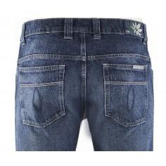 Jeans classici in canapa e cotone organico