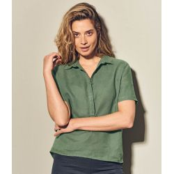 Organic women's blouse-pure hemp
