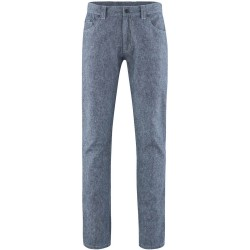 Straight cut trousers recycled fibres