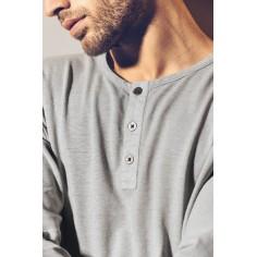 Henley camiseta