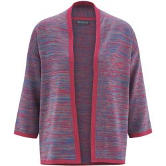 Gilet in maglia di cotone organico e canapa