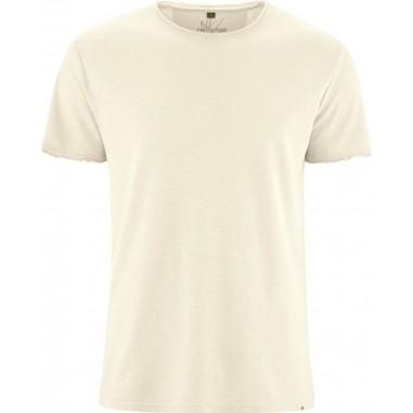 Camicia a righe organico con tasca