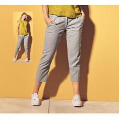 Pantalón de algodón orgánico para mujer