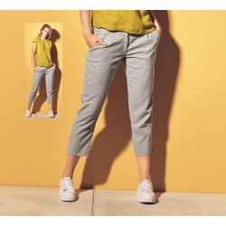 Women's organic cotton trousers