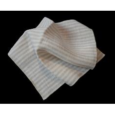 Mouchoir lavable en tissu chanvre