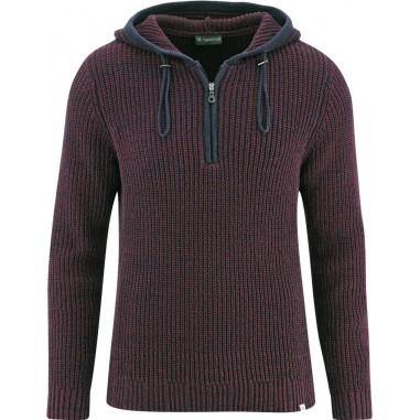 Inverno maglione uomo sci col quantità riciclata canapa