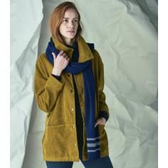 Manteau femme velours de chanvre