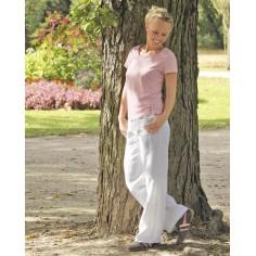 Pantaloni erano canapa pura di donna bio