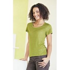 """Camiseta """"seda"""" de tejer el cáñamo puro"""