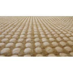 Hemp and wool carpet 120x180cm