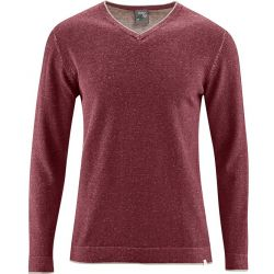 chataine Pull homme col V coton bio/chanvre