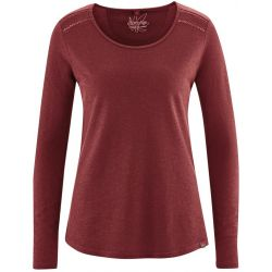 marron dh876 tee shirt coton bio marron