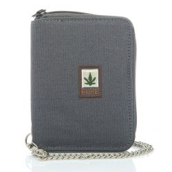 Portfolio with hemp and organic cotton chain