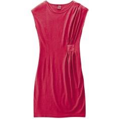 Kleid Hanf und Bio-Baumwolle - L