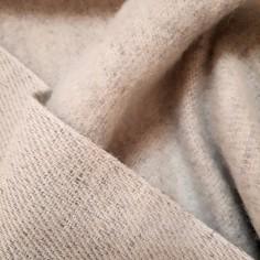 Tissu sergé chanvre et laine