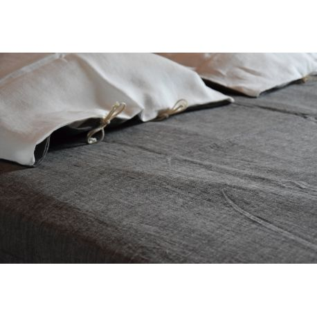 Washed pure hemp cover sheet