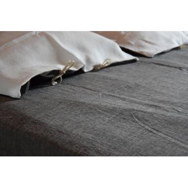 Washed pure hemp cover sheet