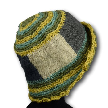 Child girl boy hat - 100% hemp